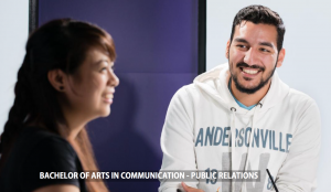 Bachelor of Arts in Communication - Public Relations