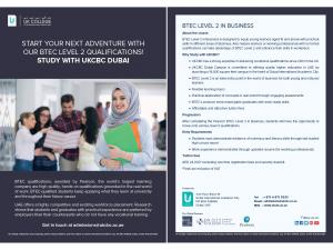 BTEC Level 2 Business Diploma